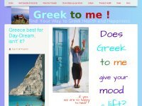 Does Greek to me ! give your mood a lift?